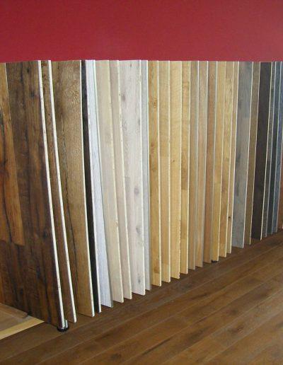 Verschiedene Holzarten auf einen Blick