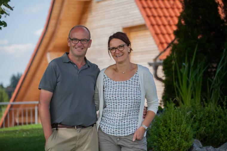 Richard und Karin Filser, Inhaber der Schreinerei Filser in Obergünzburg